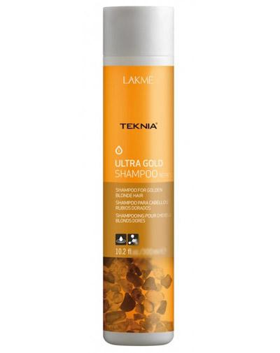 Lakme Ultra gold Шампунь для поддержания оттенка окрашенных волос