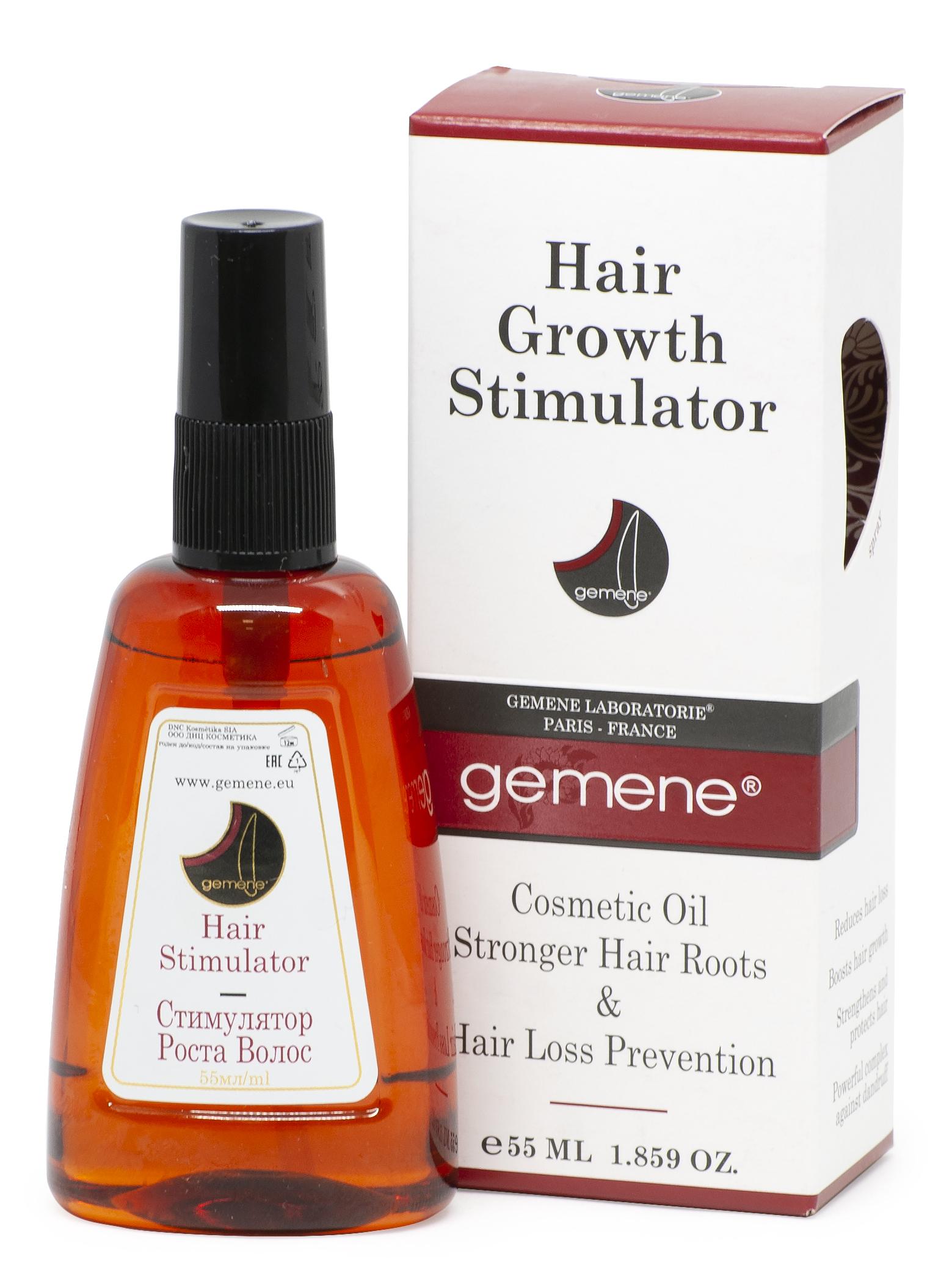 DNC Kosmetika Стимулятор роста. Масло для корней волос против выпадения, 55 мл (DNC Kosmetika, Gemene) ducray неоптид лосьон от выпадения волос для мужчин 100 мл