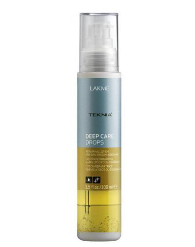 Deep care Лосьон восстанавливающий для сухих или поврежденных волос 100 мл (Lakme, Deep care) недорого