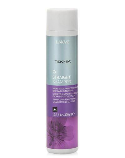 Straight Шампунь для гладкости волос с нарушенной структурой или химически выпрямленных волос 300 мл (Lakme, Straight) lakme straight thermal protector