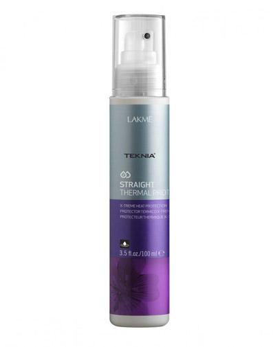 Straight Cпрей для экстремальной термозащиты волос 100 мл (Lakme, Средства для укладки) lakme straight thermal protector