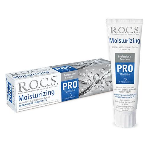 Купить R.O.C.S Зубная паста Moisturizing увлажняющая 135 гр (R.O.C.S, R.O.C.S. PRO), Россия