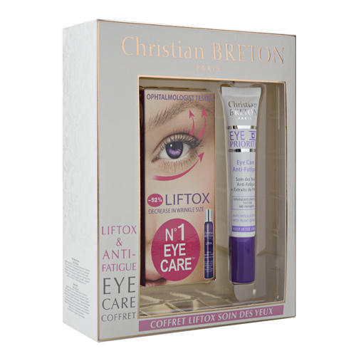 Christian Breton Paris Набор из сыворотки с эффектом ботокса и геля Лучистый взгляд Liftox and Anti Fatigue Eye Care (Eye Priority)