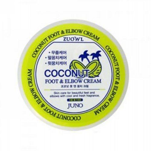 Крем для ног и локтей с кокосом 100 мл (Juno, Для тела) juno zuowl foot elbow cream banana крем для ног и локтей с бананом 100 мл