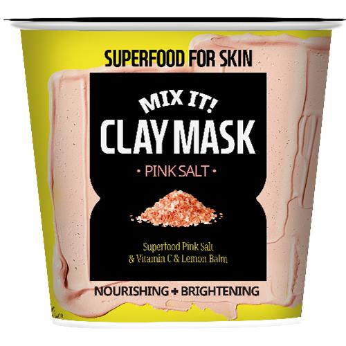 Superfood Salad for Skin Маска питательная и осветляющая с розовой солью (Superfood Salad for Skin, Глиняные маски)