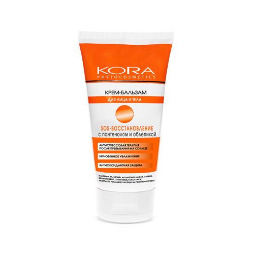 Крем-бальзам для лица и тела SOS-восстановление с пантенолом и облепихой 150 мл (Солнце) от Pharmacosmetica