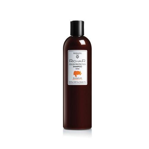 Фото - Egomania Professional Шампунь для защиты цвета с маслом макадамии 400 мл (Egomania Professional, RicHair) egomania шампунь richair blond для осветлённых и обесцвеченных волос 400 мл