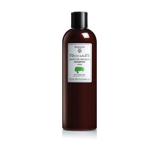 Egomania Professional Шампунь для увлажнения с маслом авокадо 400 мл (Egomania Professional, RicHair) egomania кондиционер с маслом ши для увлажнения пористых сухих волос hairganic 1000 мл