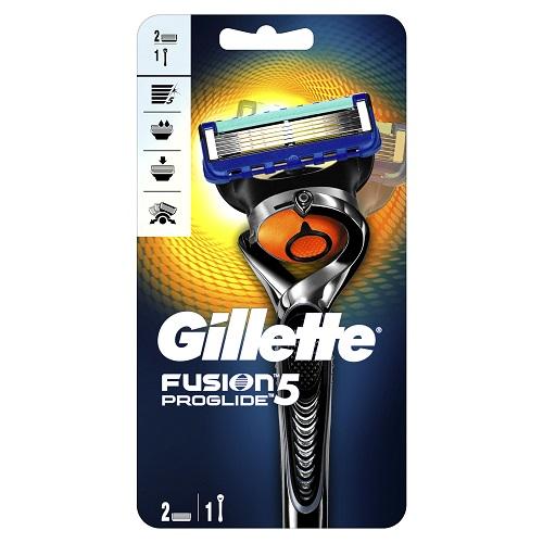 Gillette Бритва с 2 сменными кассетами Gillette Fusion ProGlide Flexball 1 шт (Gillette, Бритвы и лезвия) gillette fusion proglide cменные кассеты для бритья 4шт