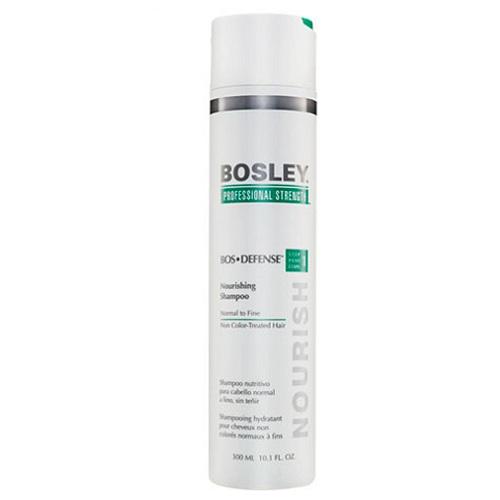 Bosley Шампунь питательный для нормальных/тонких неокрашенных волос 300 мл (Bosley, BosDefense)