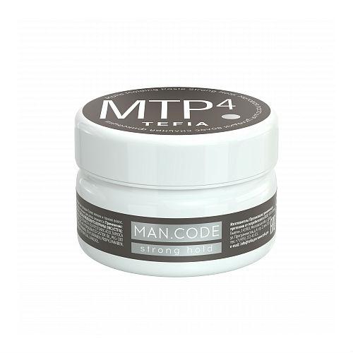 Tefia Матовая паста для укладки волос сильной фиксации 75 мл (Tefia, MAN.CODE)