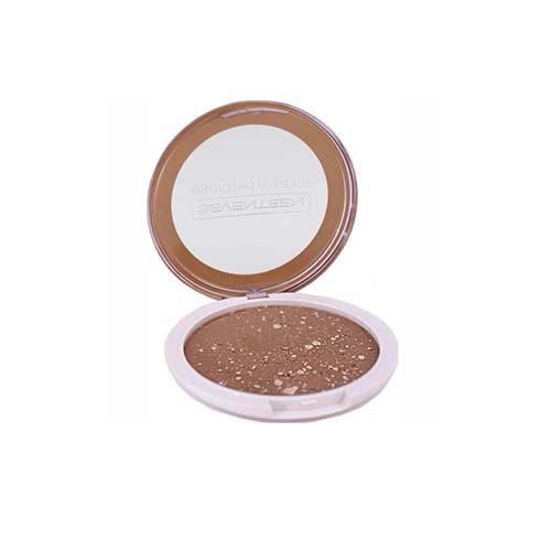 Компактная пудра для лица с бронзирующим эффектом (Seventeen, Лицо) mac mineralize foundation компактная крем пудра для лица spf15 nc20