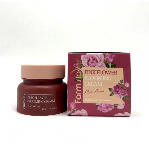 Крем для лица с экстрактом розы 100 мл (Farmstay, Для лица) крем для лица с экстрактом розы 100 мл farmstay для лица