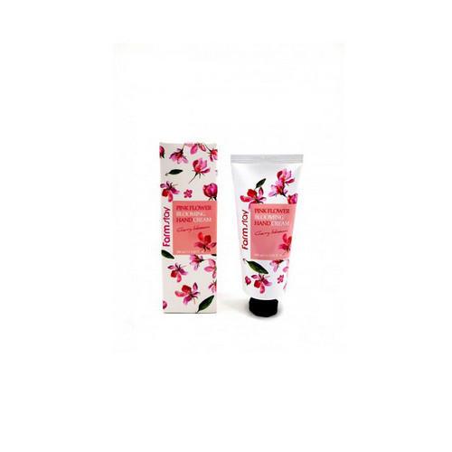 Крем для рук с цветком вишни 100 мл (Farmstay, Для лица) крем для лица с экстрактом розы 100 мл farmstay для лица
