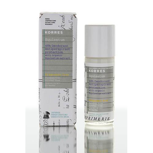 Korres Дезодорант-антиперспирант с экстрактом хвоща для чувствительной кожи, 48 часов, 30 мл (Korres, Korres Для тела)