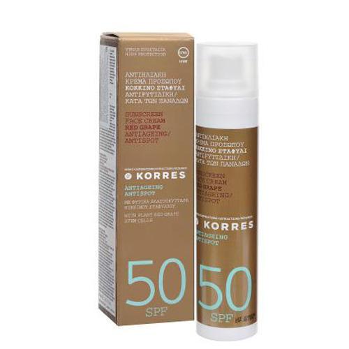 �������������� �������������� ���� ��� ���� ������ ���������� ����� � ������� ���������� SPF 50, 50 (Korres ������ �� ������)