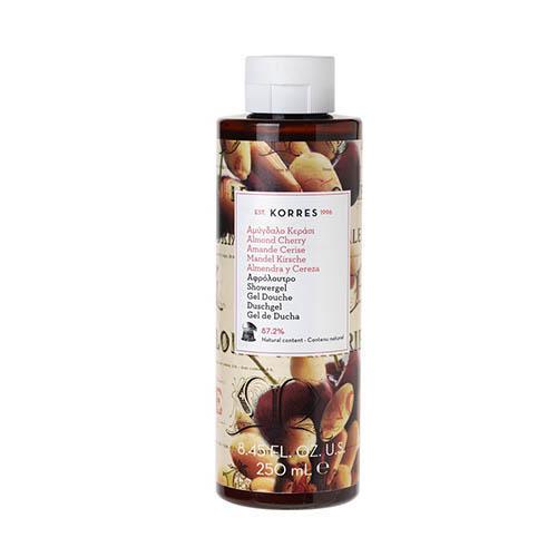 Гель для душа Миндаль и вишня, 250 мл (Korres, Korres Гели для душа) korres bellflower shower gel гель для душа с колокольчиком мандарином и розовым перцем 250 мл