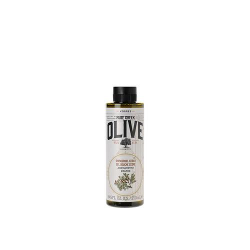 Гель для душа Кедр 250 мл (Korres, Pure Greek) korres pure greek olive гель для душа в ассортименте кедр