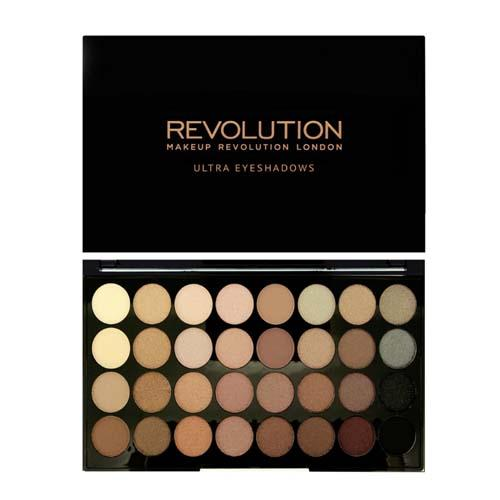 Палетка теней 32 оттенка Ultra 32 Shade Eyeshadow Palette, 20 г (Makeup Revolution, Глаза) naras portable 32 color cosmetic makeup lipstick cream eyeshadow palette multicolored