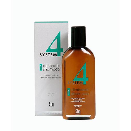 Купить Sim Sensitive Шампунь №1 для нормальных и склонных к жирности волос 215 мл (Sim Sensitive, System 4), Финляндия
