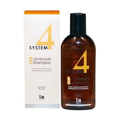 Шампунь 2 для сухих, повреждённых, окрашенных волос 215 мл (Sim Sensitive, System 4) шампунь 2 для сухих повреждённых окрашенных волос 215 мл sim sensitive system4
