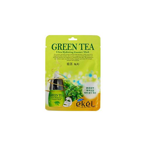 Ekel Тканевая маска с экстрактом зеленого чая, 25 г (Ekel, Mask)