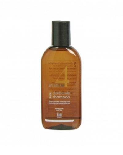 Sim Sensitive Шампунь №2 для сухих, повреждённых, окрашенных волос 100 мл (Sim Sensitive, System 4) фото