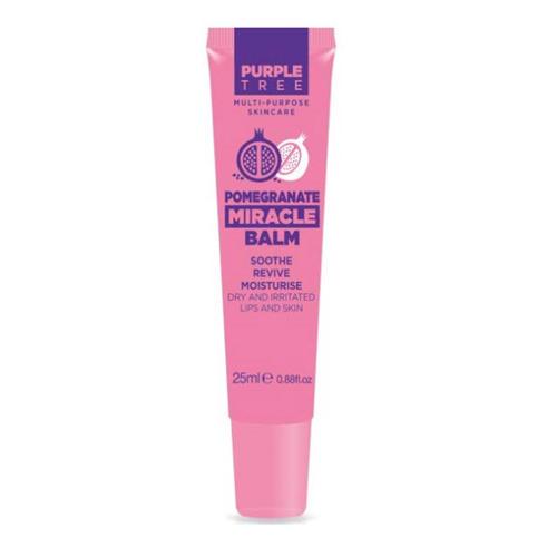 Бальзам для губ и кожи Miracle Гранат 25 мл (Purple Tree, Miracle Balms) бальзам для губ purple tree pomegranate miracle balm объем 25 мл