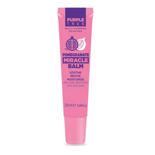 Purple Tree Бальзам для губ и кожи Miracle Гранат 25 мл (Purple Tree, Miracle Balms)