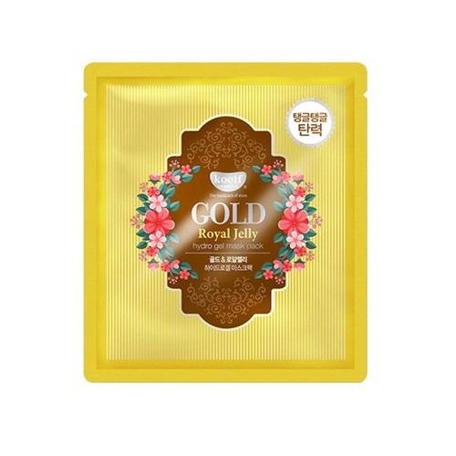 Koelf Гидрогелевая маска для лица с золотом и маточным молочком пчел 30 мл (Koelf, Gel Mask Pack)