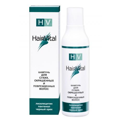 Hair Vital Шампунь для сухих, окрашенных и поврежденных волос 200 мл (Для сухих волос)