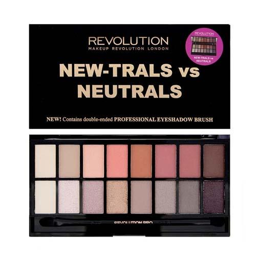 Палетка для теней Newtrals vs Neutrals Palette (Makeup Revolution, Глаза)