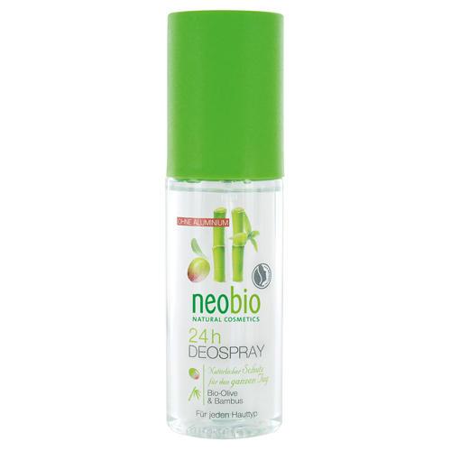 Neobio Дезодорант спрей 24 часа с био-оливой и бамбуком 100 мл (Дезодоранты)