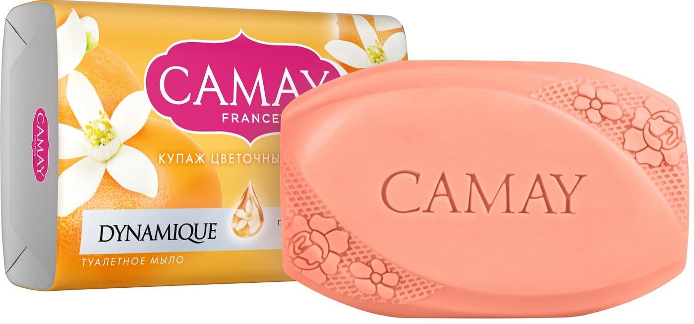 CAMAY Мыло Динамик 85 гр (CAMAY, Свежие ароматы)