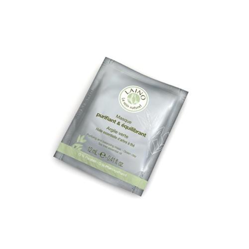 Маска очищающая с зелёной глиной, 12 г (Hygiene Tradition)