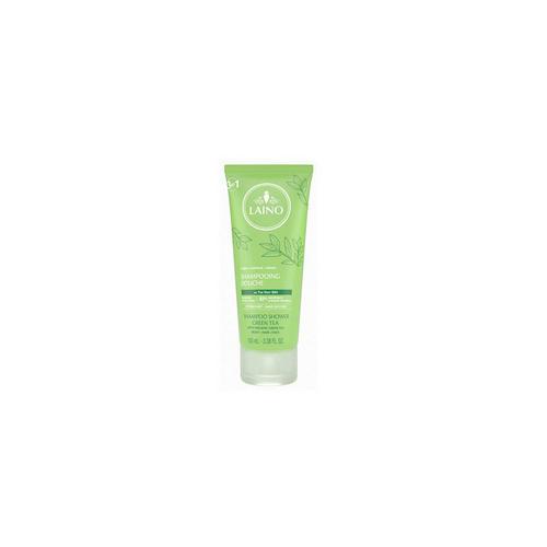 Органический шампунь 3 в 1 для лица, волос и тела Зеленый Чай 100 мл (Laino, Soins Parfumes) шампунь ph нейтральный