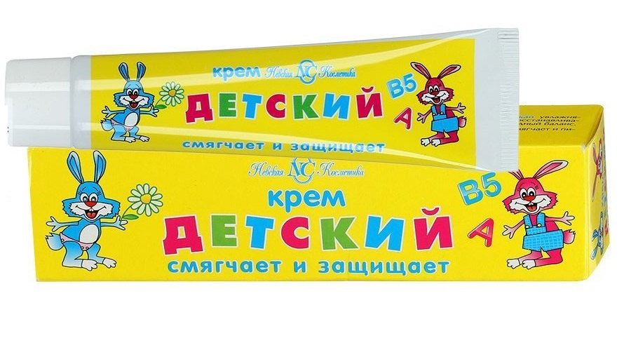 Фото - НЕВСКАЯ КОСМЕТИКА Детский крем 40 мл (НЕВСКАЯ КОСМЕТИКА, Косметика для малышей) косметика