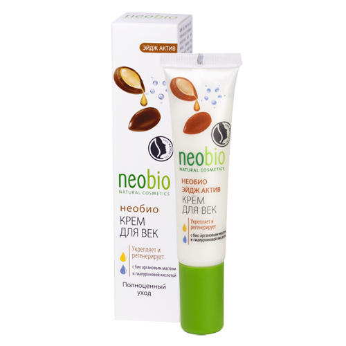 Neobio Разглаживающий крем вокруг глаз 15 мл (Уход за лицом)