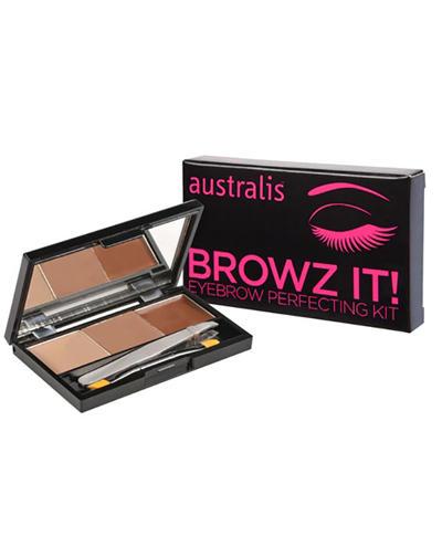 Browz it Kit Набор для бровей (Australis, Макияж бровей)