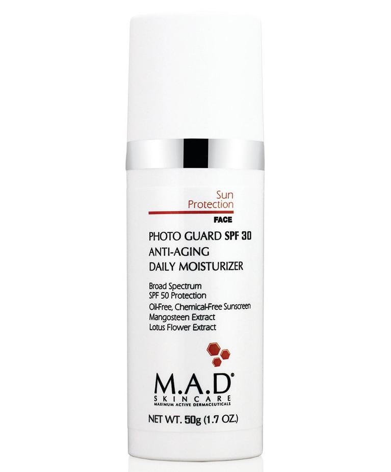 M.A.D. Омолаживающий и увлажняющий крем-защита под макияж с защитой spf 30, 50 гр (M.A.D., Sun Protection)