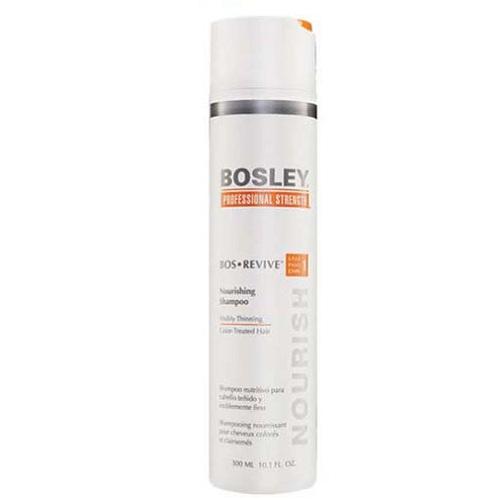 Bosley Шампунь питательный для истонченных окрашенных волос 300 мл (Bosley, BosRevive)