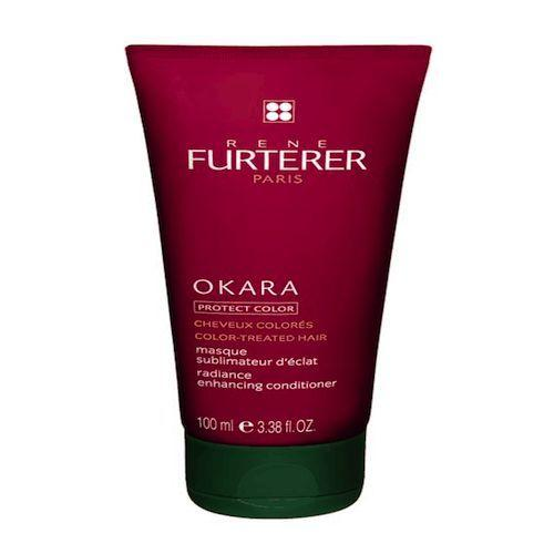 Маска восстанавливающая защитная для окрашенных волос 100мл (Rene Furterer, Okara) rene набор для окрашенных волос furterer okara шампунь 200 мл маска 30 мл