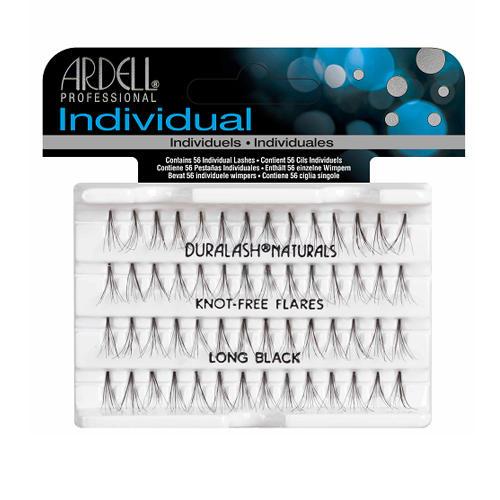 Naturals Long Black Длинные пучки ресниц черные (безузелковые) (Ardell Retail) пучки ресниц ardell ardell ar043lwxzj87