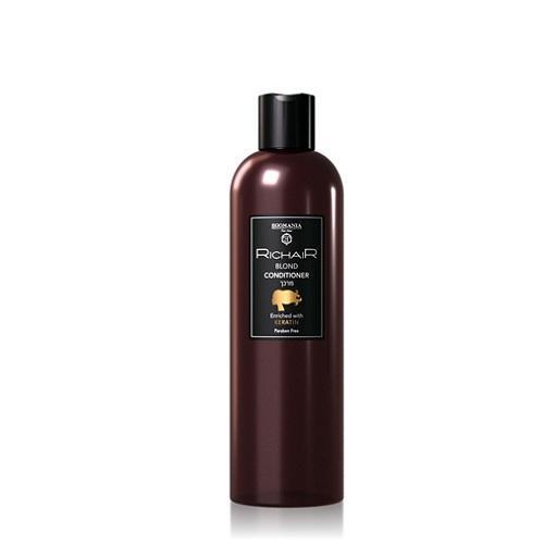 Egomania Professional Кондиционер для обесцвеченных и осветлённых волос с кератином 400 мл (Egomania Professional, RicHair) egomania professional маска для восстановления с витамином е 250 мл egomania professional richair