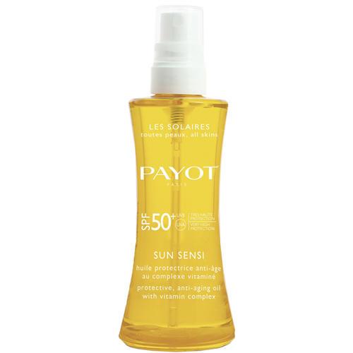 Защитное антивозрастное масло с комплексом витаминов для волос и тела SPF 50, 125 мл (Sun Sensi)
