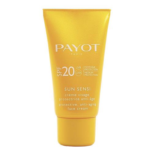 Защитный антивозрастной крем для лица SPF 20, 50 мл (Payot, Sun Sensi)