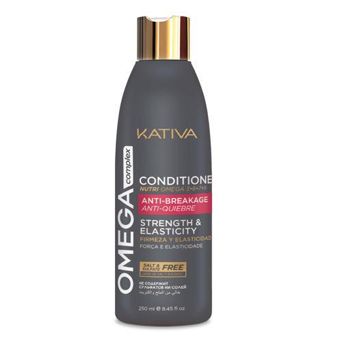 купить Антристрессовый кондиционер для поврежденных волос 250 мл (Kativa, Omega complex) по цене 537 рублей