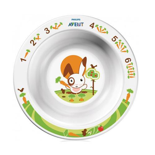 Глубокая тарелка малая от 6 месяцев (Avent, Детская посуда) глубокая малая
