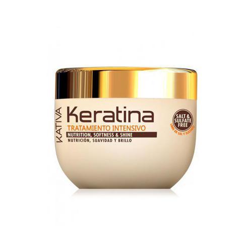 Kativa Интенсивный восстанавливающий уход с кератином для поврежденных и хрупких волос 500 мл (Keratina)