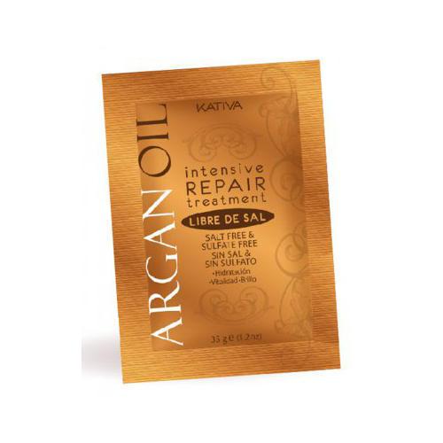 Kativa Интенсивный восстанавливающий увлажняющий уход для волос с маслом арганы 35 г (Argana)